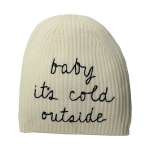 Kate Spade Baby It's Cold Outside Beanie.New!